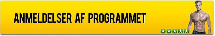 Anmeldelser af styrketræningsprogrammet